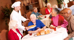 Independent Living Dining, Independent Living, Senior Living